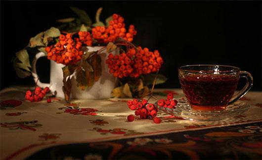 Чай горобиновий