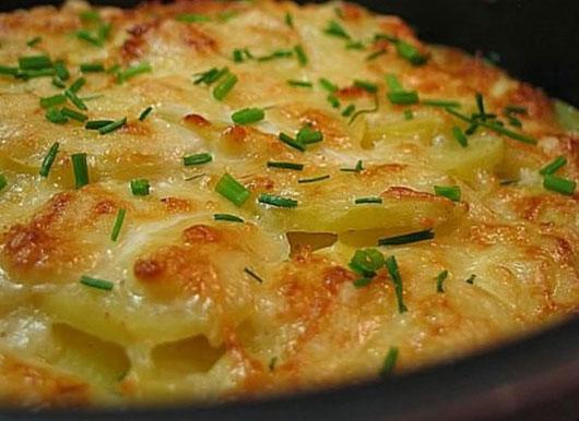 Картопля з вершками в духовці