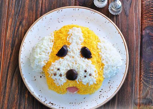 """Салат """"Жовта собака"""""""